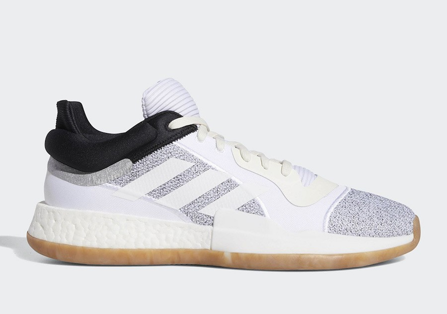 adidas Marquee Boost Low White/Grey D96933