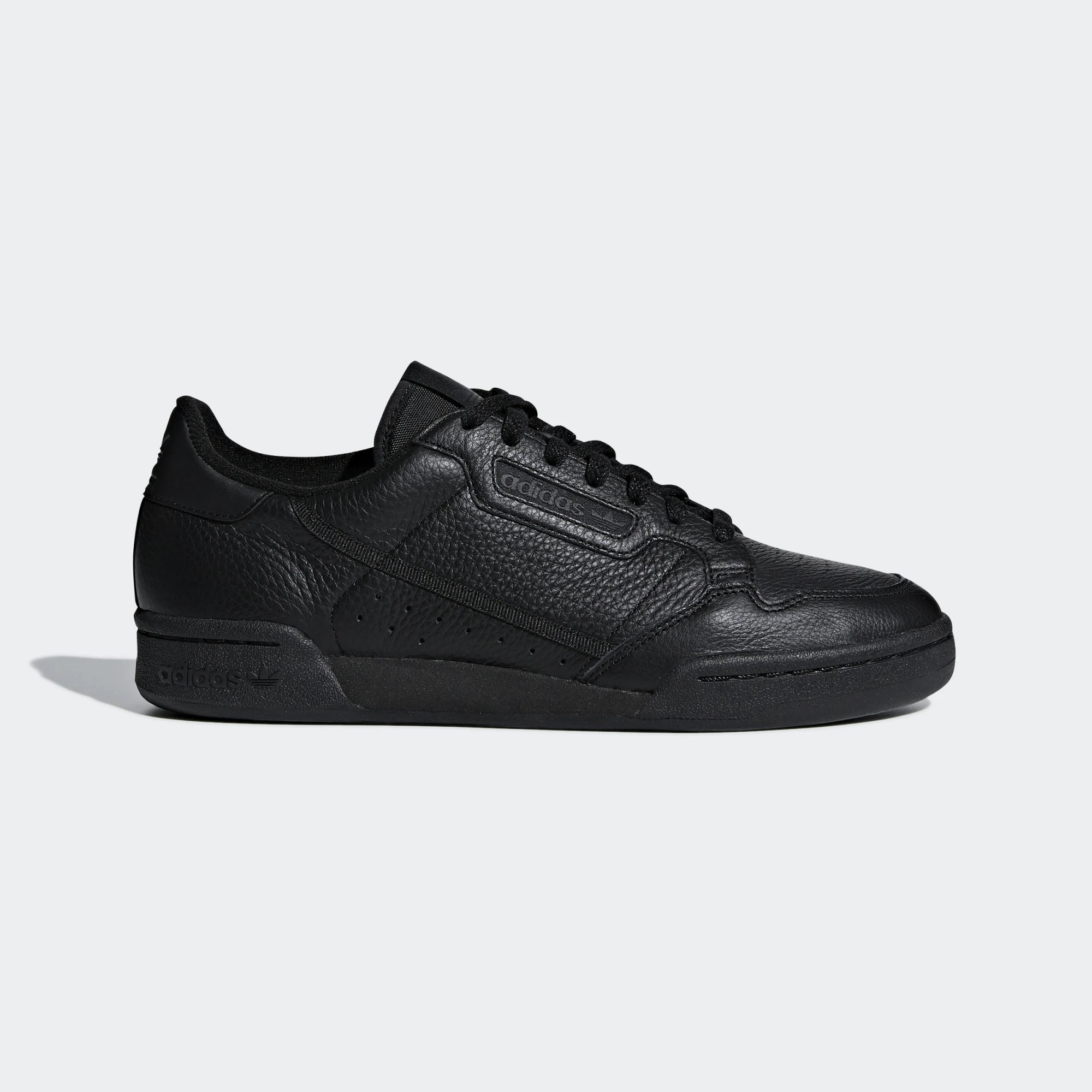 Adidas Originals Continental 80 Shoes Black BD7657