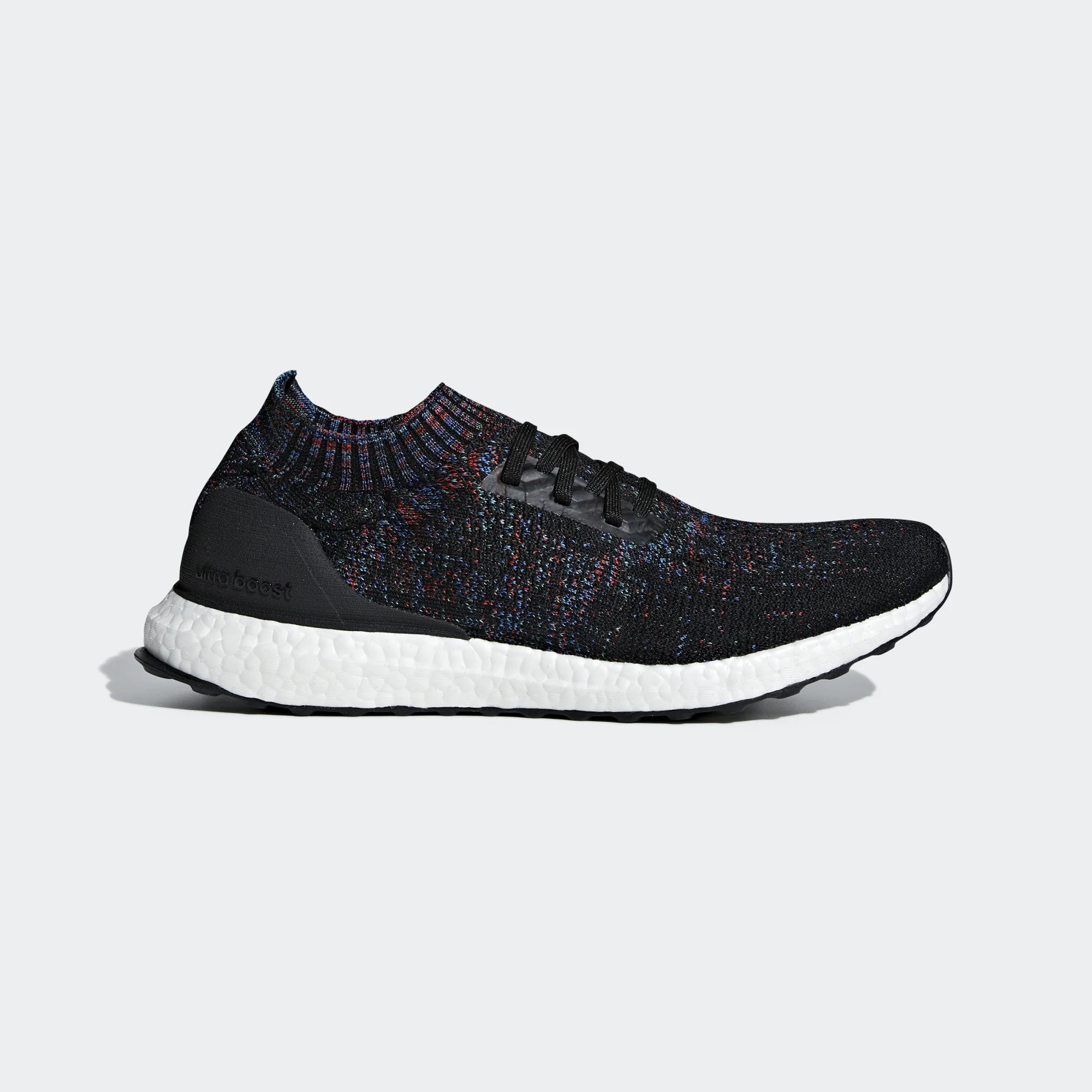 Adidas B37692 Men Ultra Boost Uncaged Running Shoes Black Red