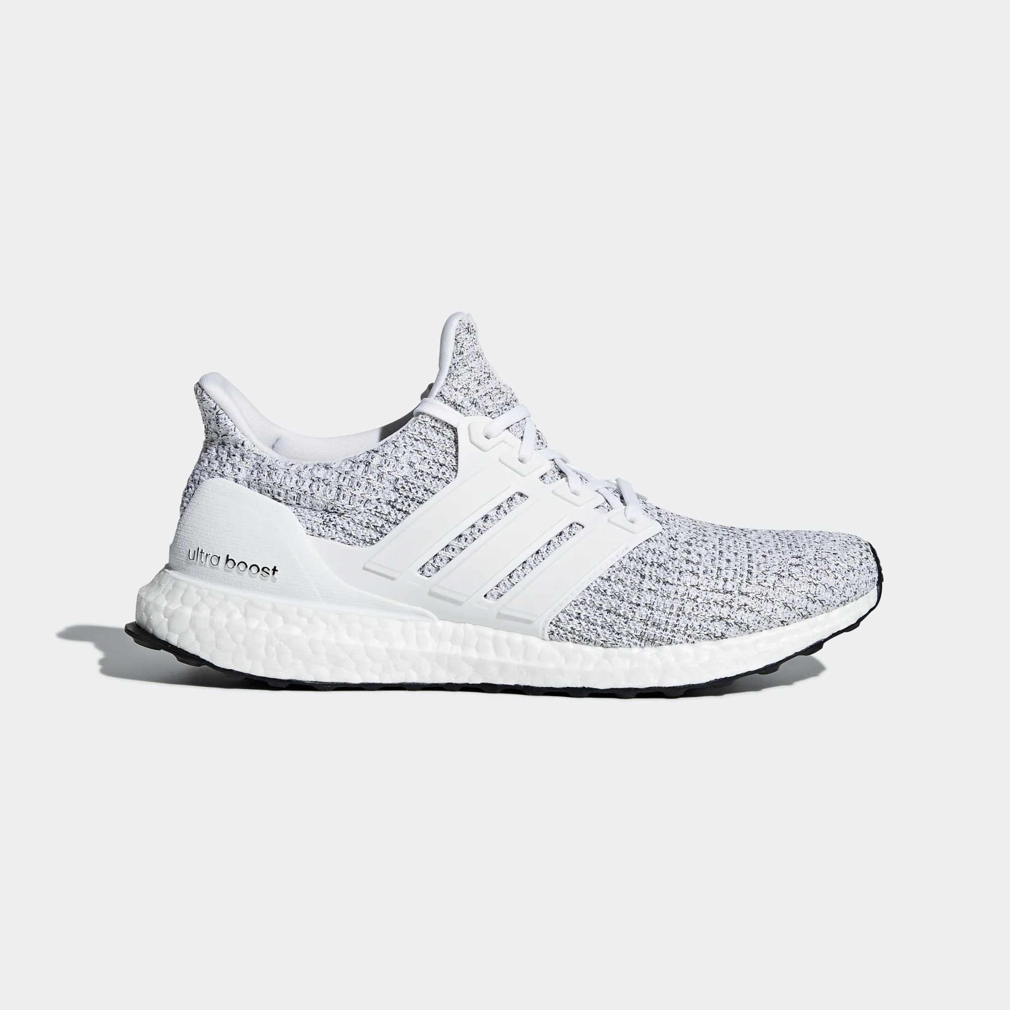 adidas F36155 Ultraboost Mens Running Shoe White/Grey/Black