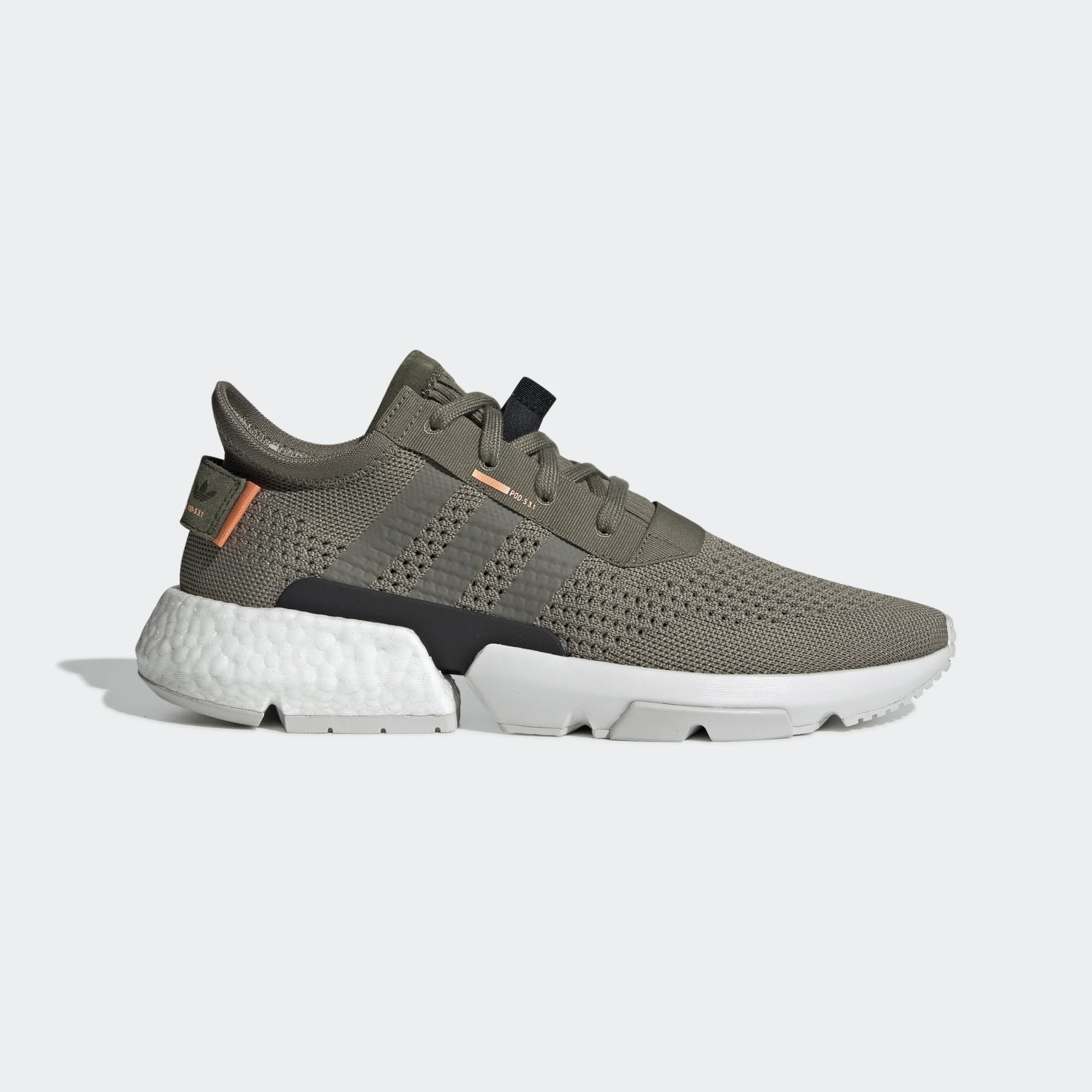 adidas Originals Pod-S3.1 Boost Steel Orange White Men BD7878