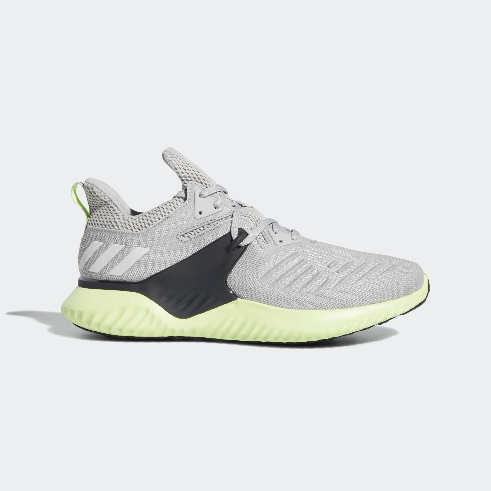 adidas AlphaBounce Beyond 2 M Grey/Black-Green BD7096