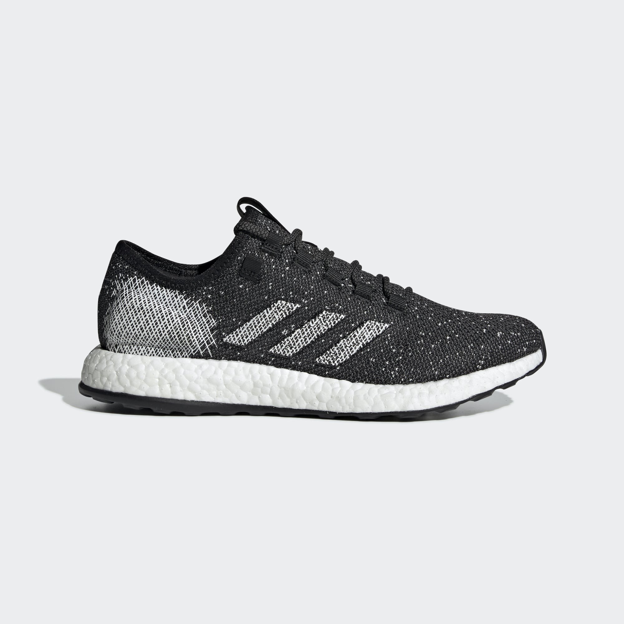 Adidas B37775 Pure Boost Running Shoes Black