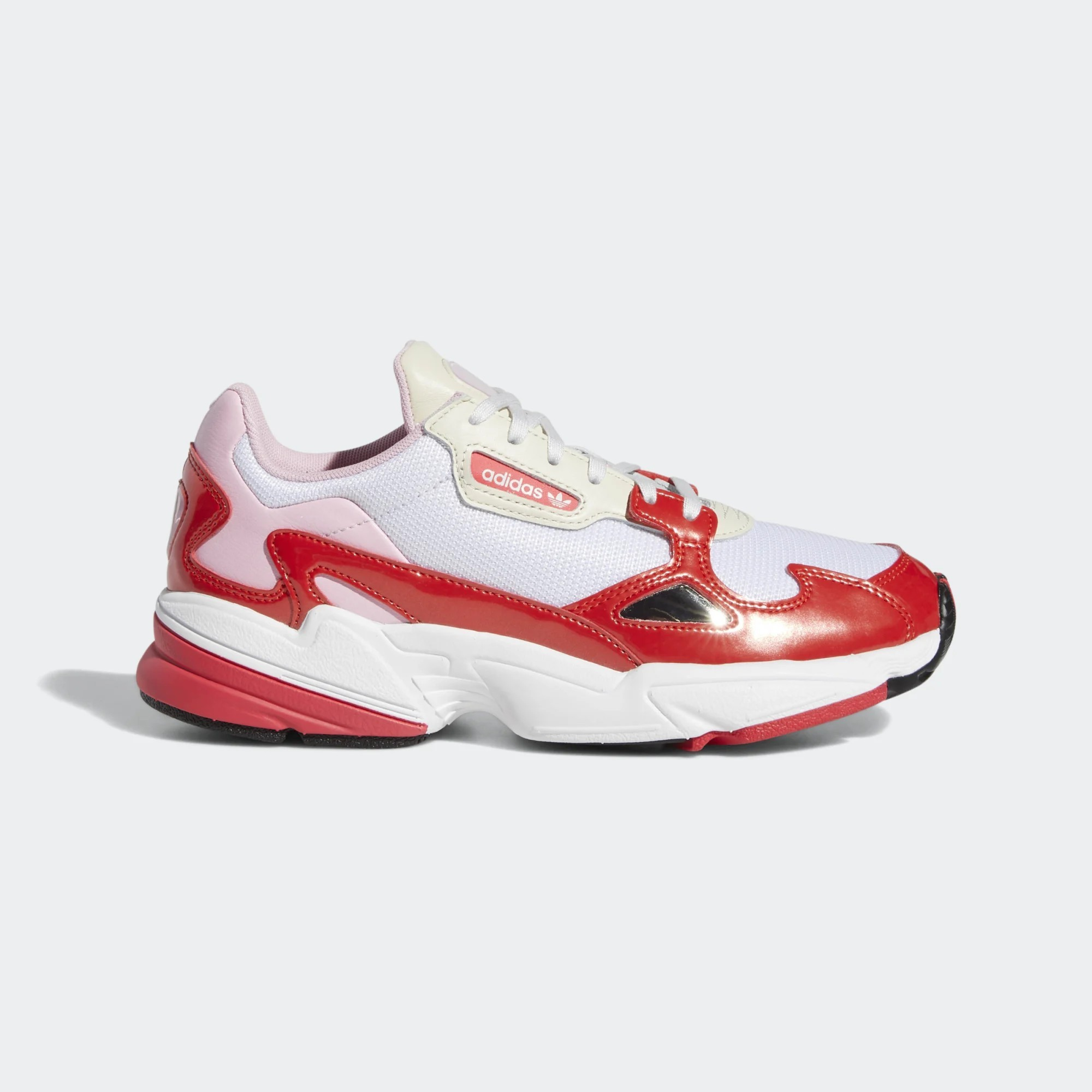 Adidas Women's Originals Falcon Shoes White/Red EE3830