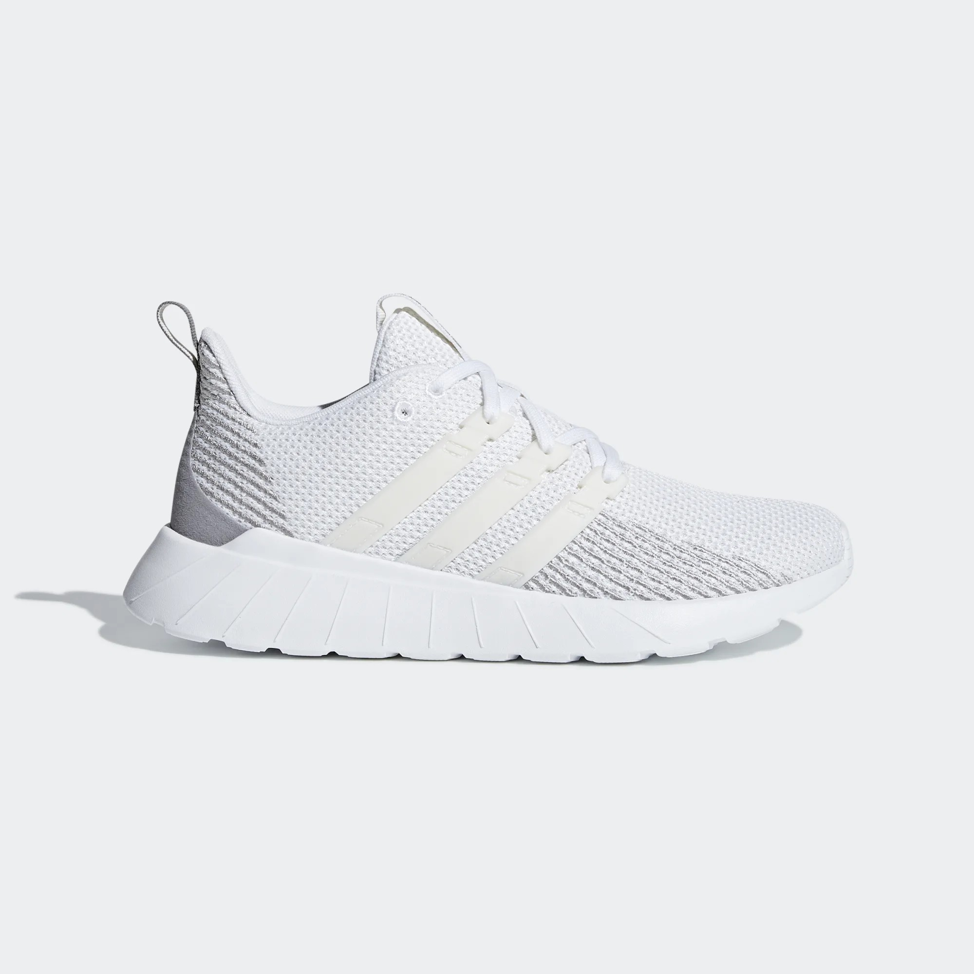 adidas Neo Questar Flow White Grey Women F36309