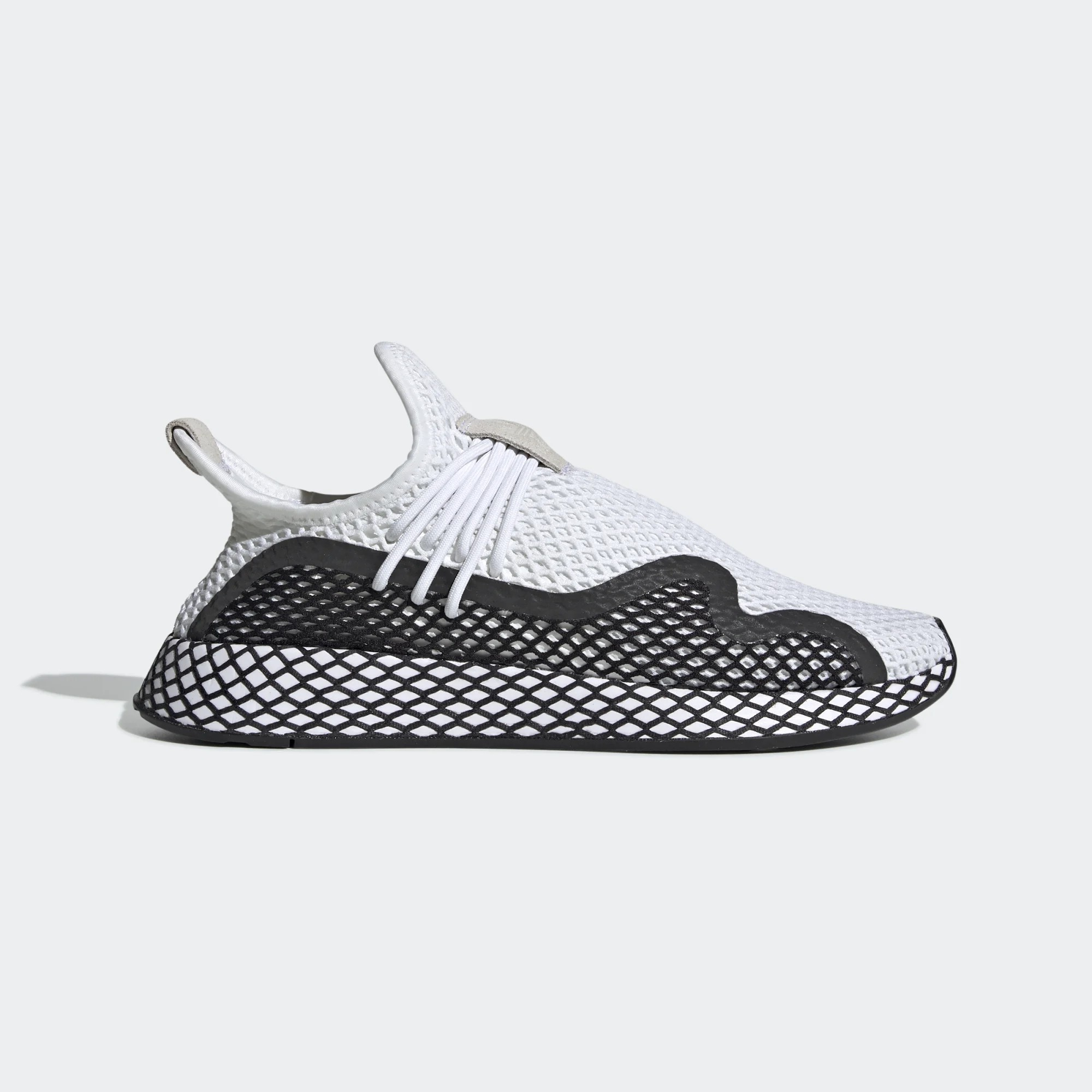 adidas Originals Deerupt New Runner White Sneakers BD7874