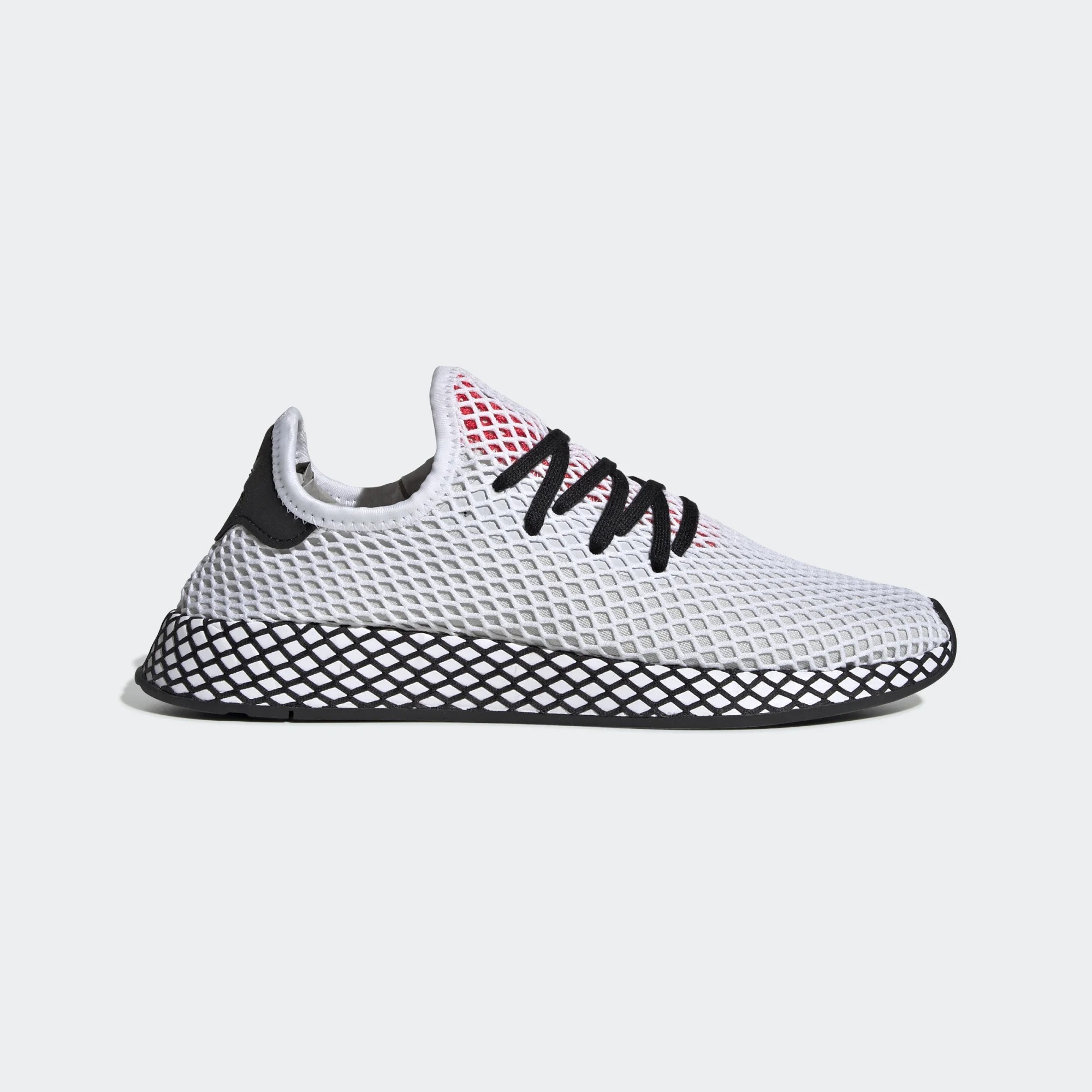 adidas Originals Deerupt Runner White Sneakers DB2686