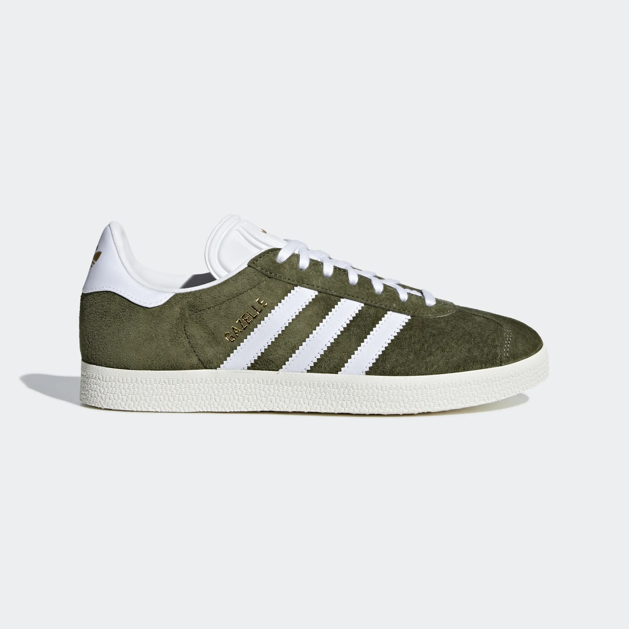 Adidas CG6062 Women Gazelle Casual Shoes Khaki
