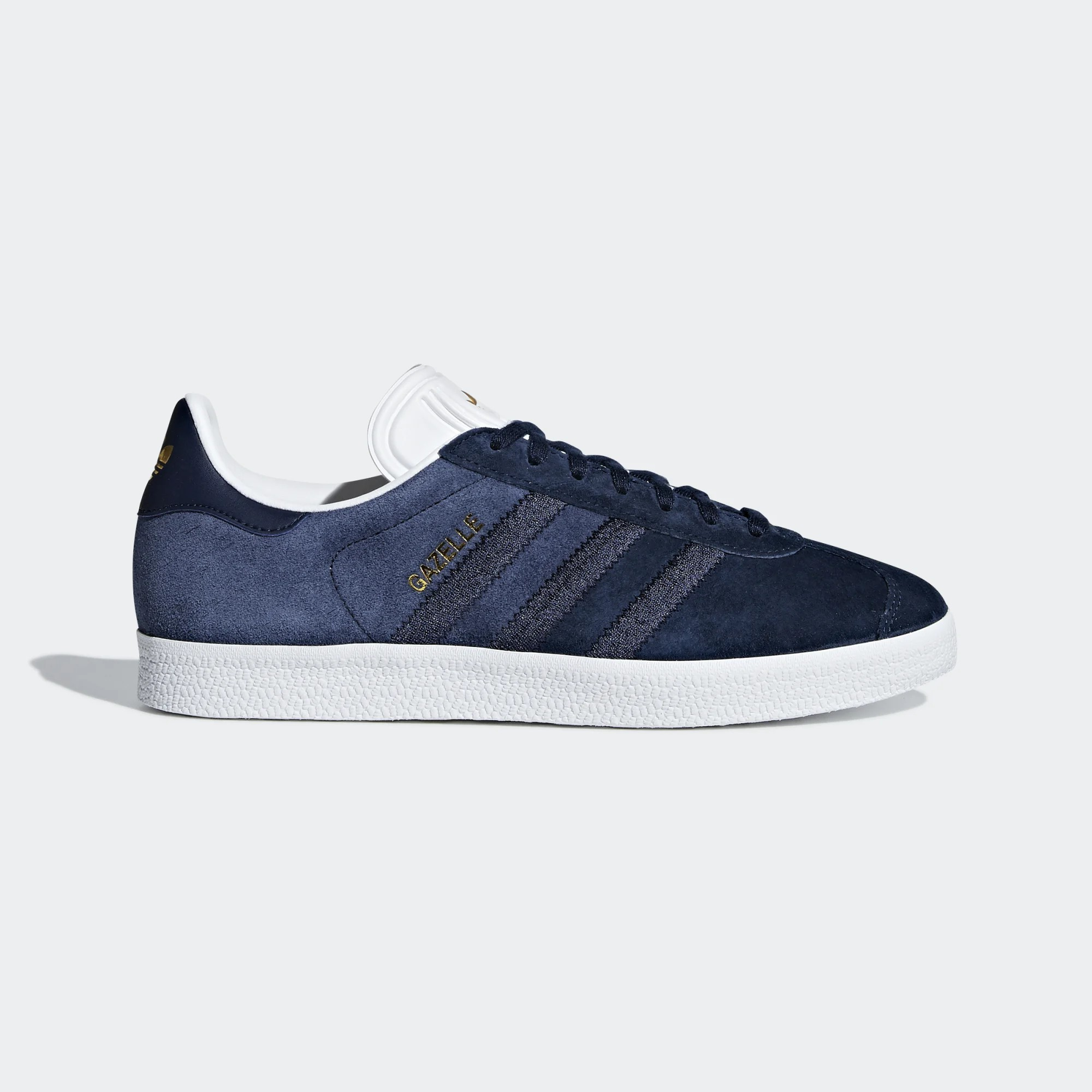 Adidas CG6058 Women Gazelle Casual Shoes Navy White