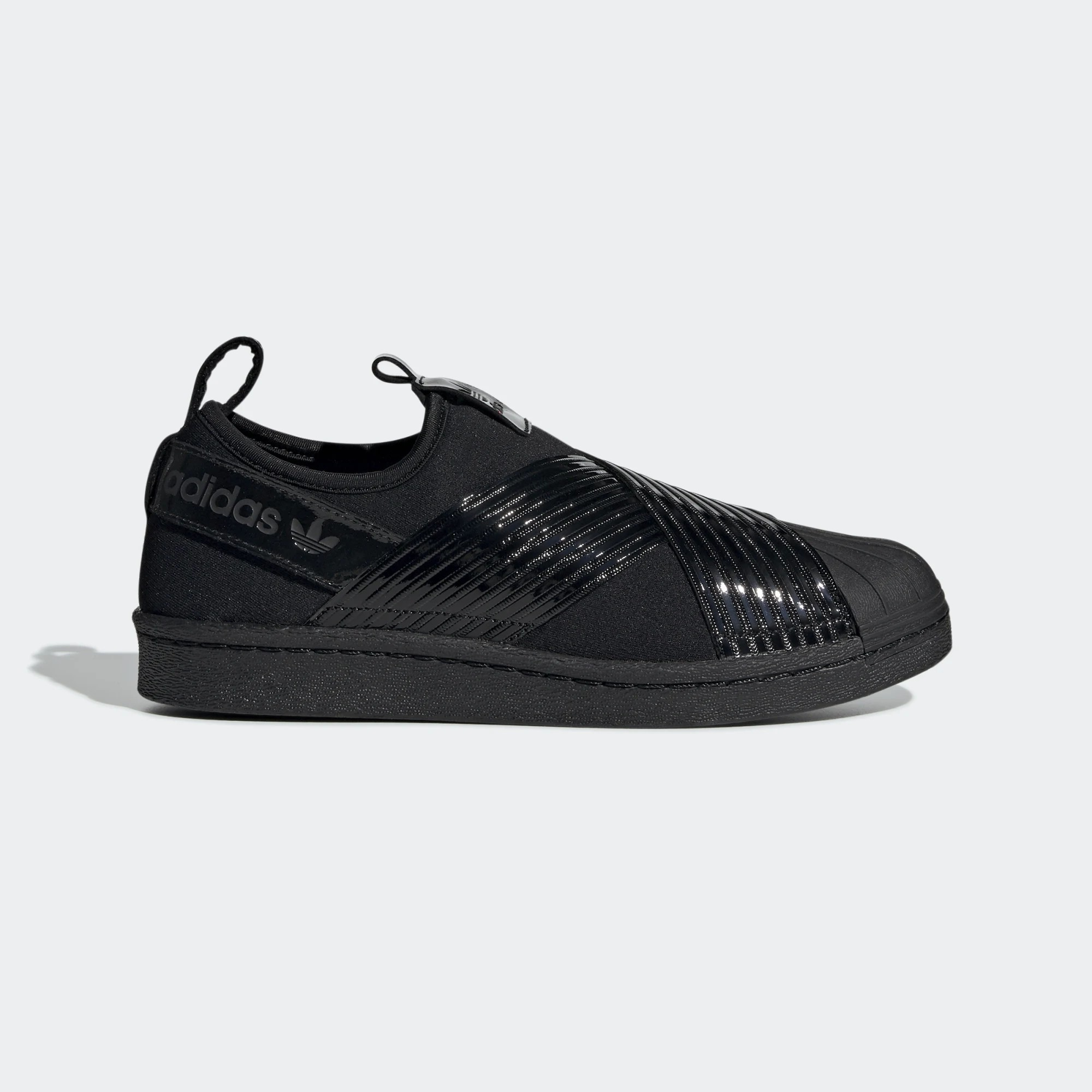 adidas Superstar Slip-On Triple Black W BD8055