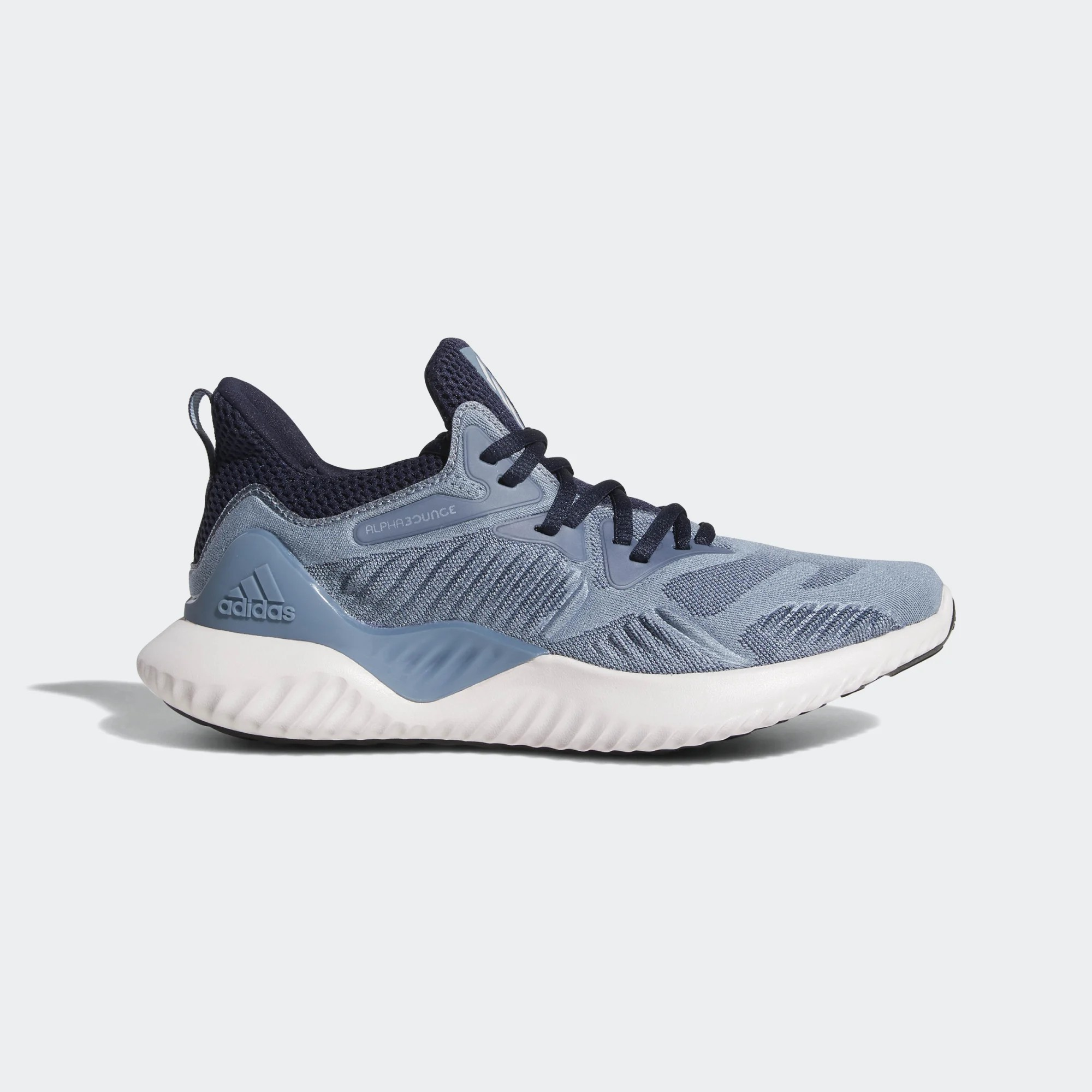 Wmns Alphabounce Beyond 'Raw Grey' Blue adidas CG5580