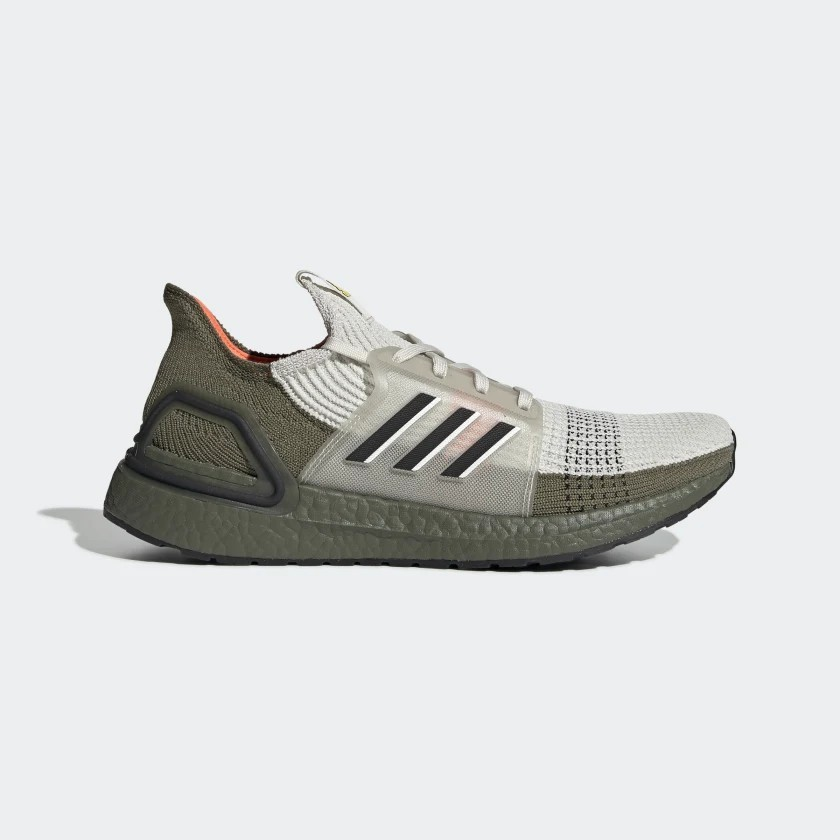 adidas UltraBOOST 19 (Olive/Beige) - G27510
