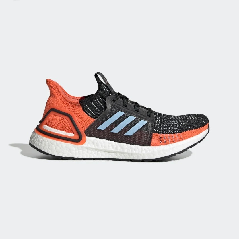 adidas UltraBOOST 19 W Core Black/Glow Blue/Hi-Res Coral G27482