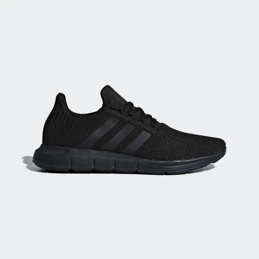 Adidas Swift Run Shoes Core Black/Core Black AQ0863