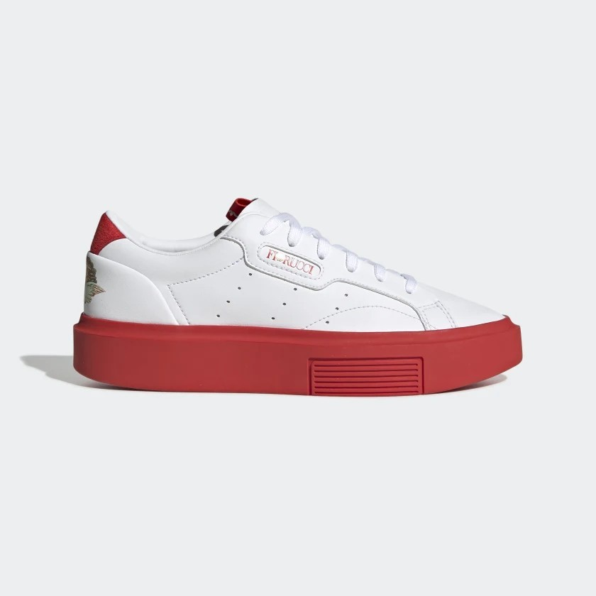 adidas Originals W Sleek Super White Sneakers EE4719