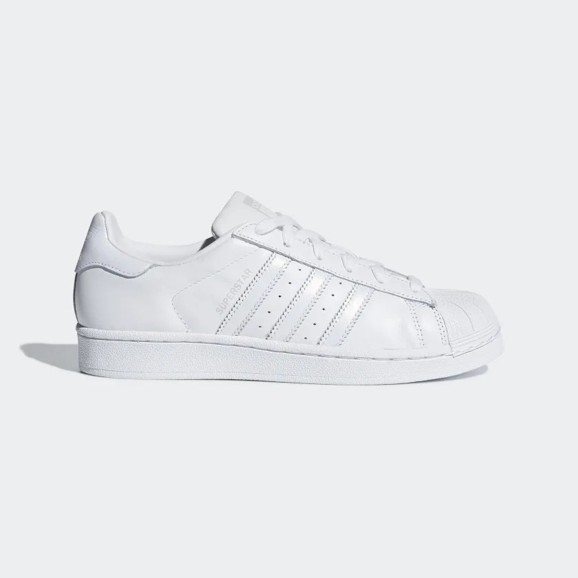 adidas Originals Superstar W White Grey AQ1214