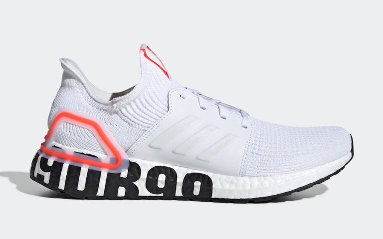 David Beckham x adidas Ultra Boost 2019 Core White/Footwear White-Solar Red FW1970