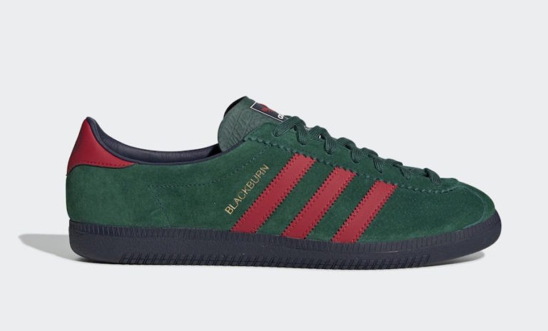 adidas Blackburn SPEZIAL Collegiate Green/Scarlet-Night Indigo EF1158