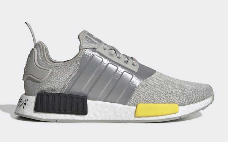 NMD R1 Grey/Yellow-Black - EF4261 - Adidas