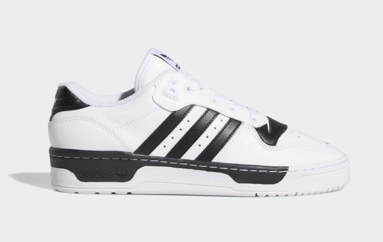 Rivalry Low White/White-Black - EG8062 - Adidas