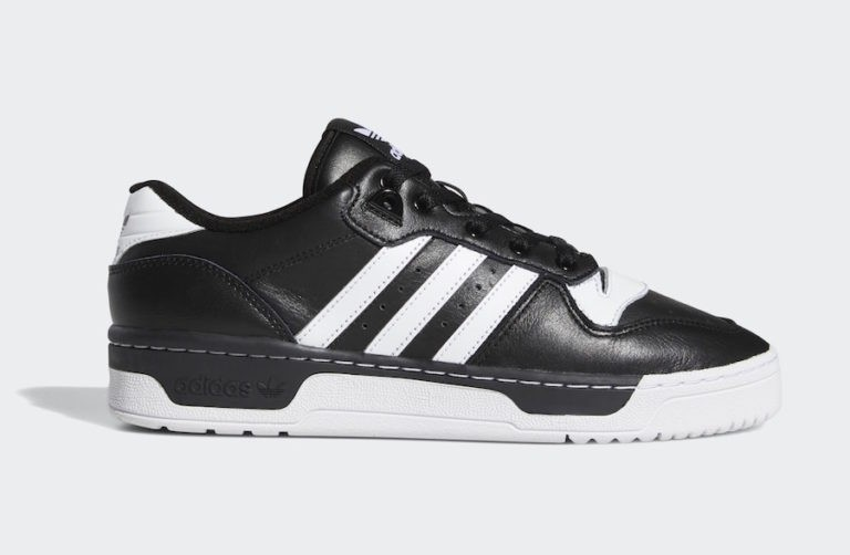 Rivalry Low Black/White-White - EG8063 - Adidas