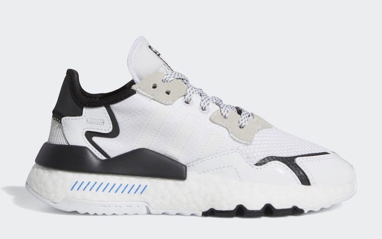 "Star Wars x Nite Jogger ""Storm Trooper"" Core White/Core Black - FW2284 - Adidas"