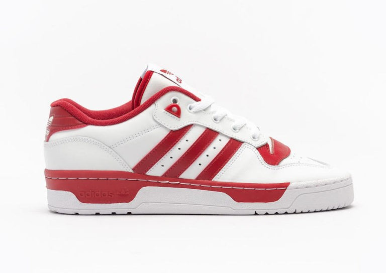 Rivalry Low Cloud White/Cloud White-Active Maroon - EE4967 - Adidas