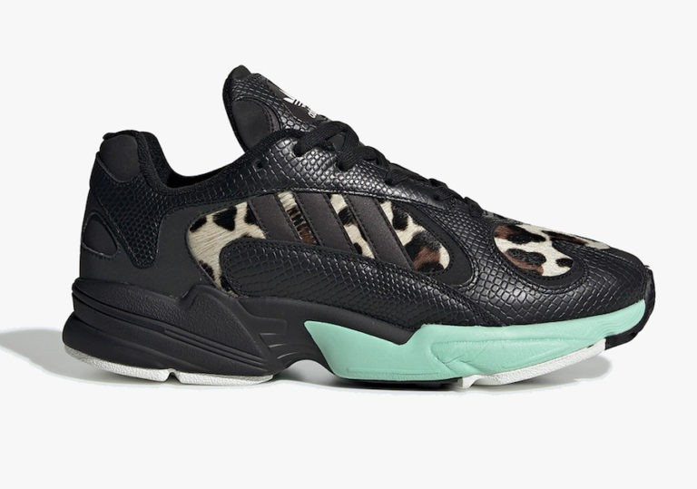 "Yung-1 ""Night Jungle"" Core Black/Core Black-Core Black - FV6448 - Adidas"