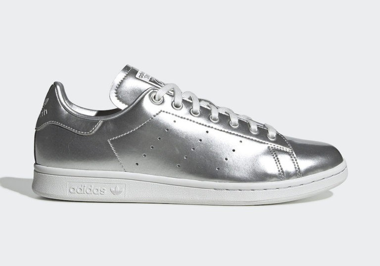 Stan Smith Silver Metallic/Silver Metallic-Crystal White - FV4300 - Adidas