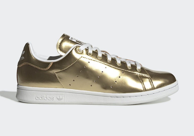 Stan Smith Gold Metallic/Gold Metallic-Crystal White - FV4298 - Adidas