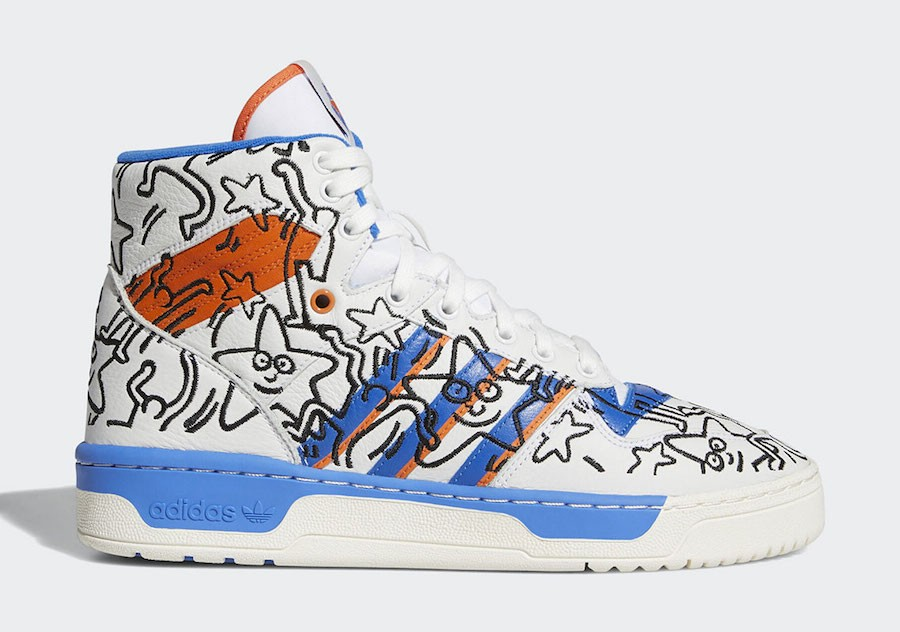 adidas Rivalry Hi Keith Haring EE9296