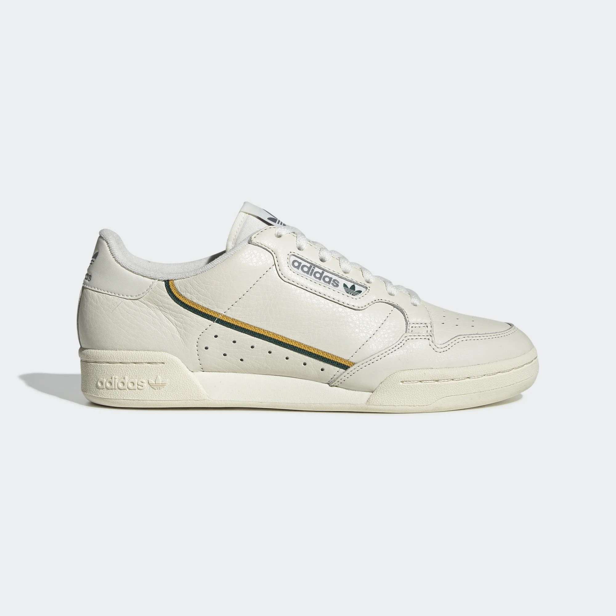 adidas Originals Continental 80s Off White/Active Gold EG2714