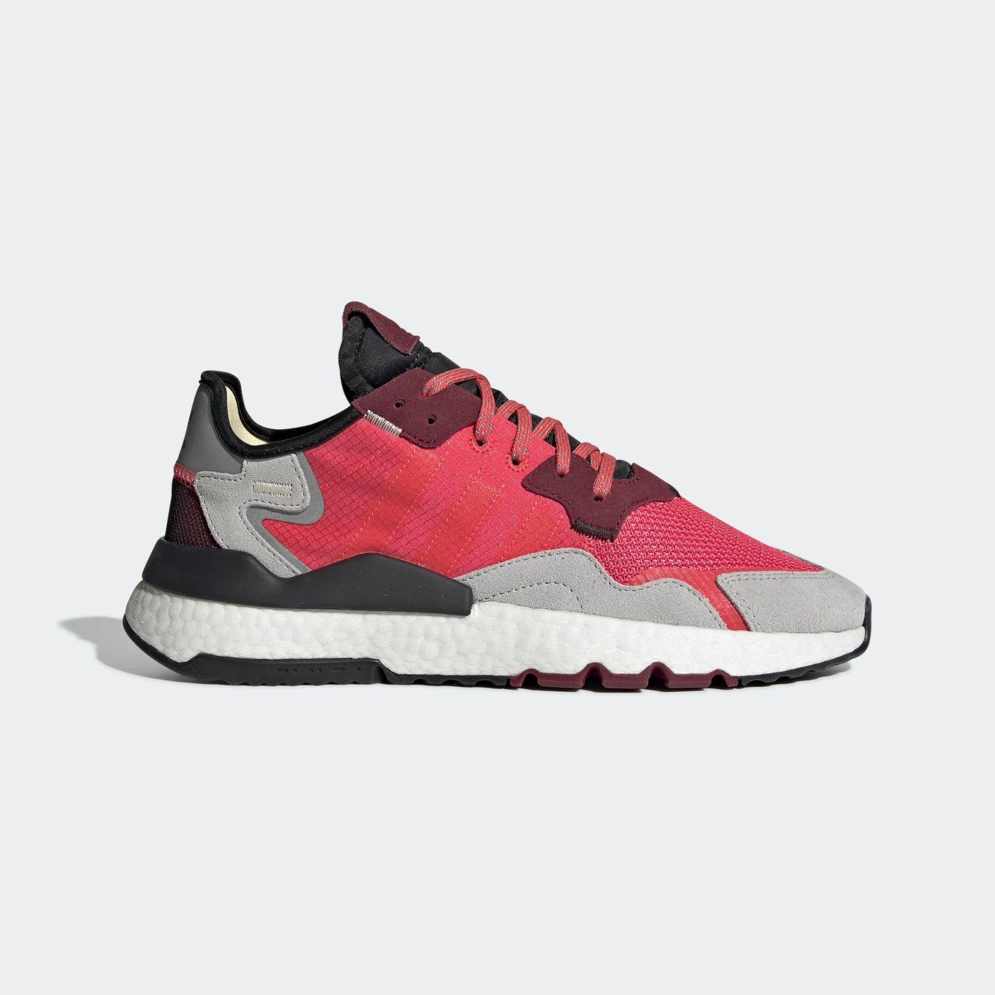 adidas Nite Jogger Red Grey EE5883