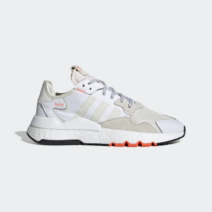 adidas Nite Jogger Shoes White EG2709