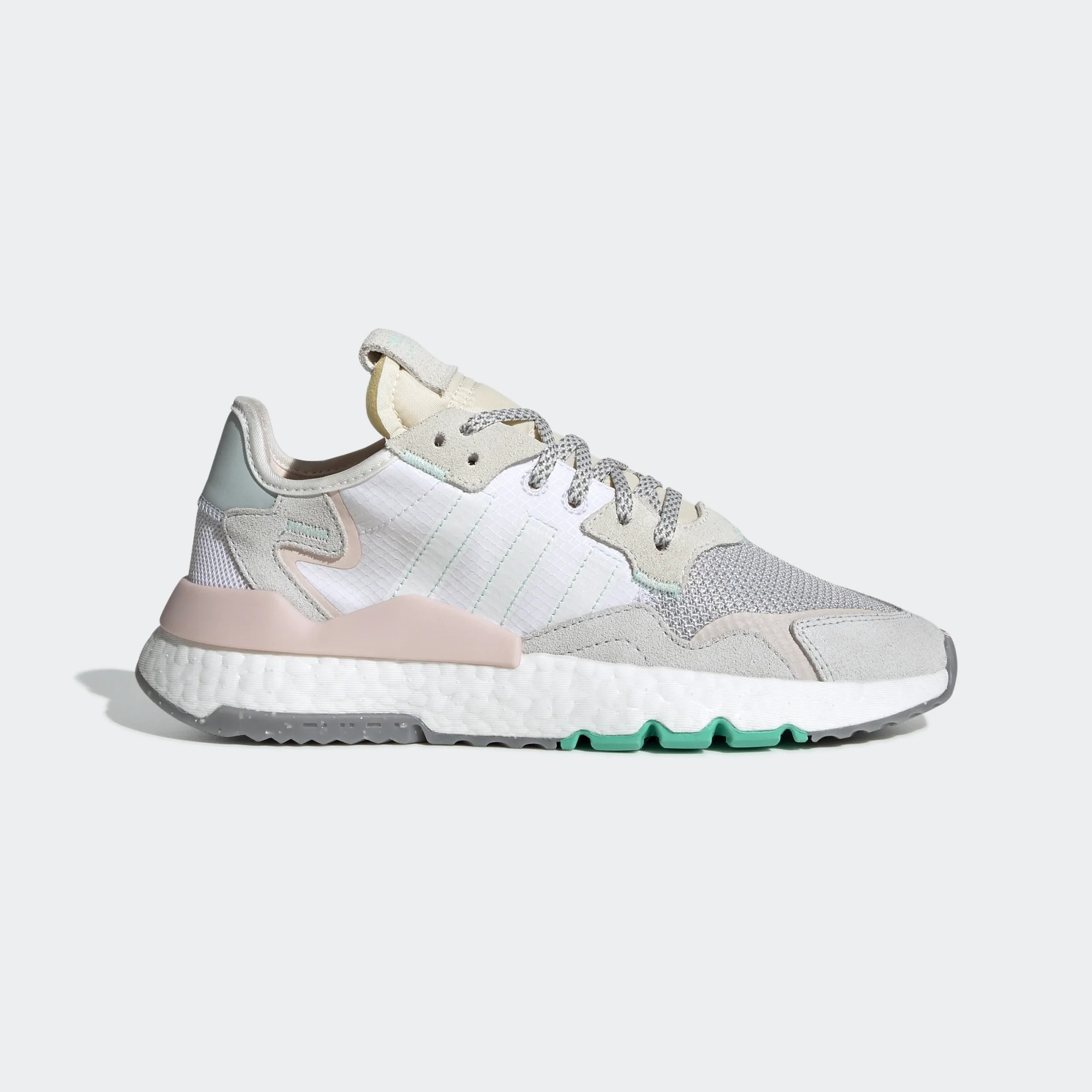 adidas Nite Jogger White Mint Pink W EF8721