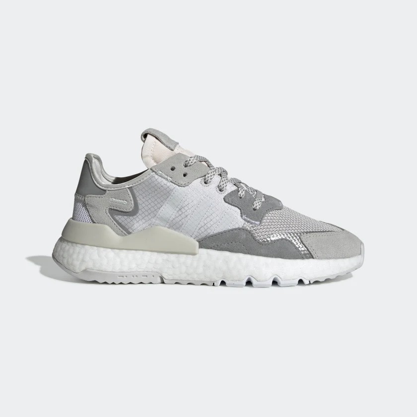 Adidas Originals Women Nite Jogger Grey/White DA8692