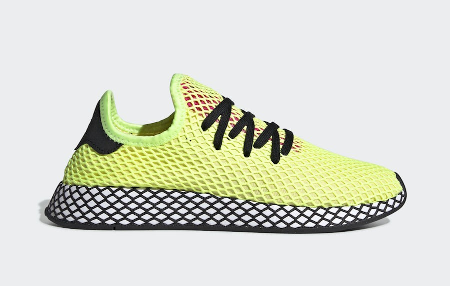 adidas Deerupt Runner Hi-Res Yellow CG5943