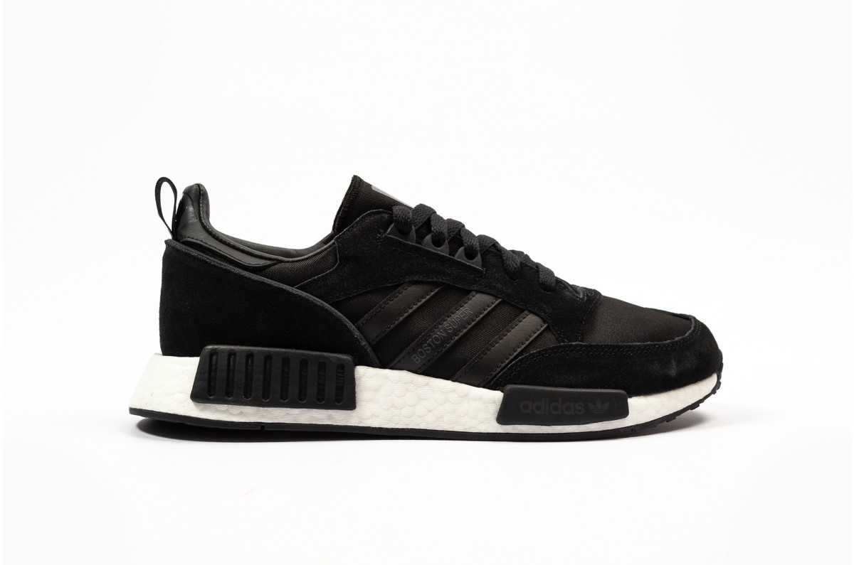 adidas Originals Boston Super x R1 Black Sneakers EE3654
