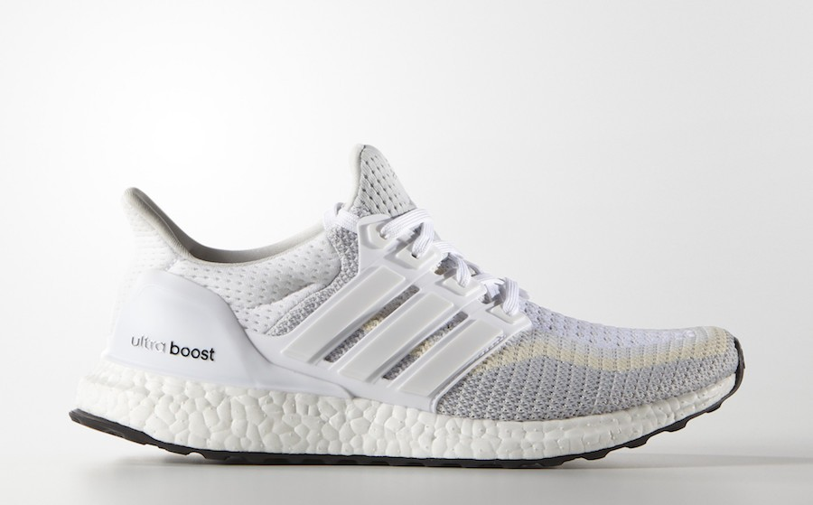 adidas Ultra Boost 2.0 Cloud White/Clear Grey-Core Black AF5142