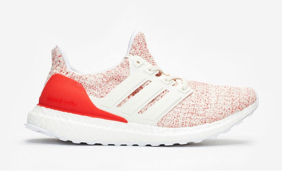 adidas Ultra Boost 4.0 Chalk White/Chalk White-Active Red DB3209