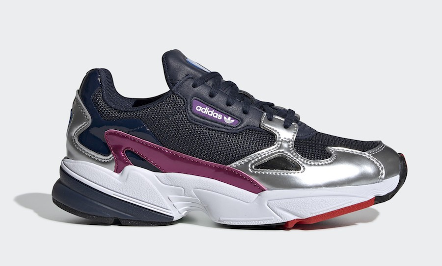 adidas Falcon Collegiate Navy/Collegiate Navy-Silver Metallic CG6213