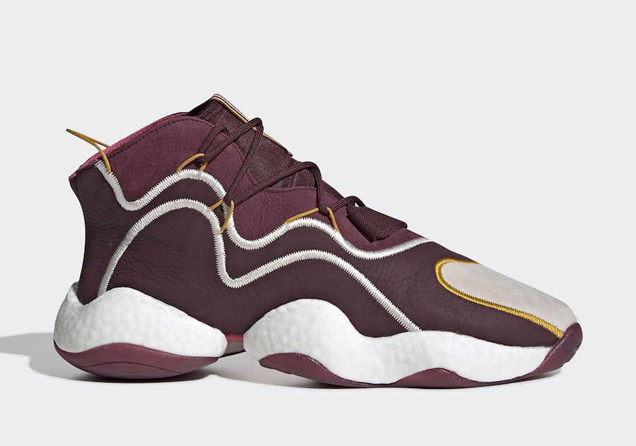 Eric Emanuel x adidas Crazy BYW Maroon/Cream White/Real Pink BD7242