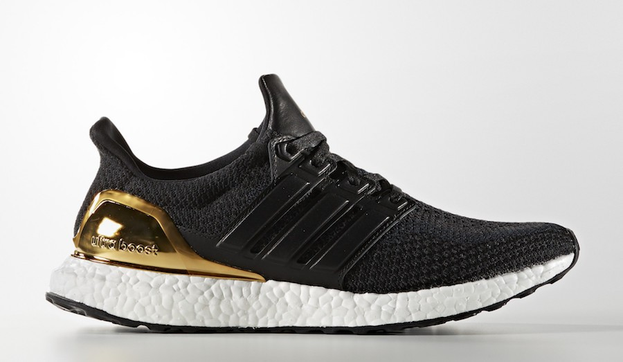 "adidas Ultra Boost ""Gold Medal"" Core Black/Core Black-Kurz Gold Foil BB3929"