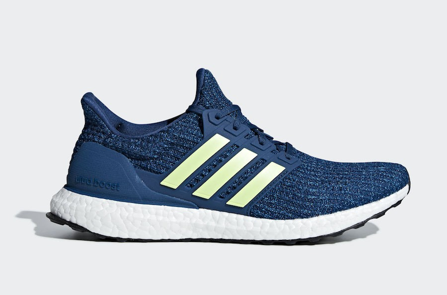 adidas Ultra Boost 4.0 Legend Marine/Hi-Res Yellow-Cloud White F35234