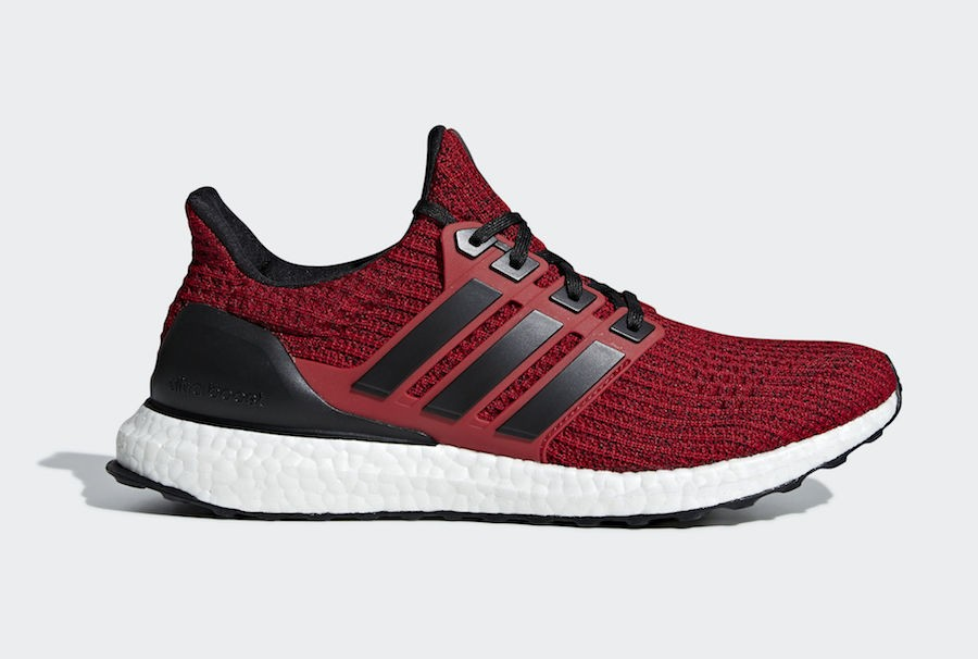 adidas Ultra Boost 4.0 Black/Red-White EE3703
