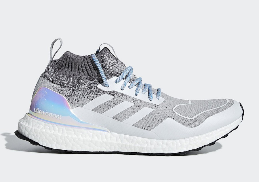 adidas Ultra Boost Mid Light Granite/Light Granite-Silver Metallic EE3732