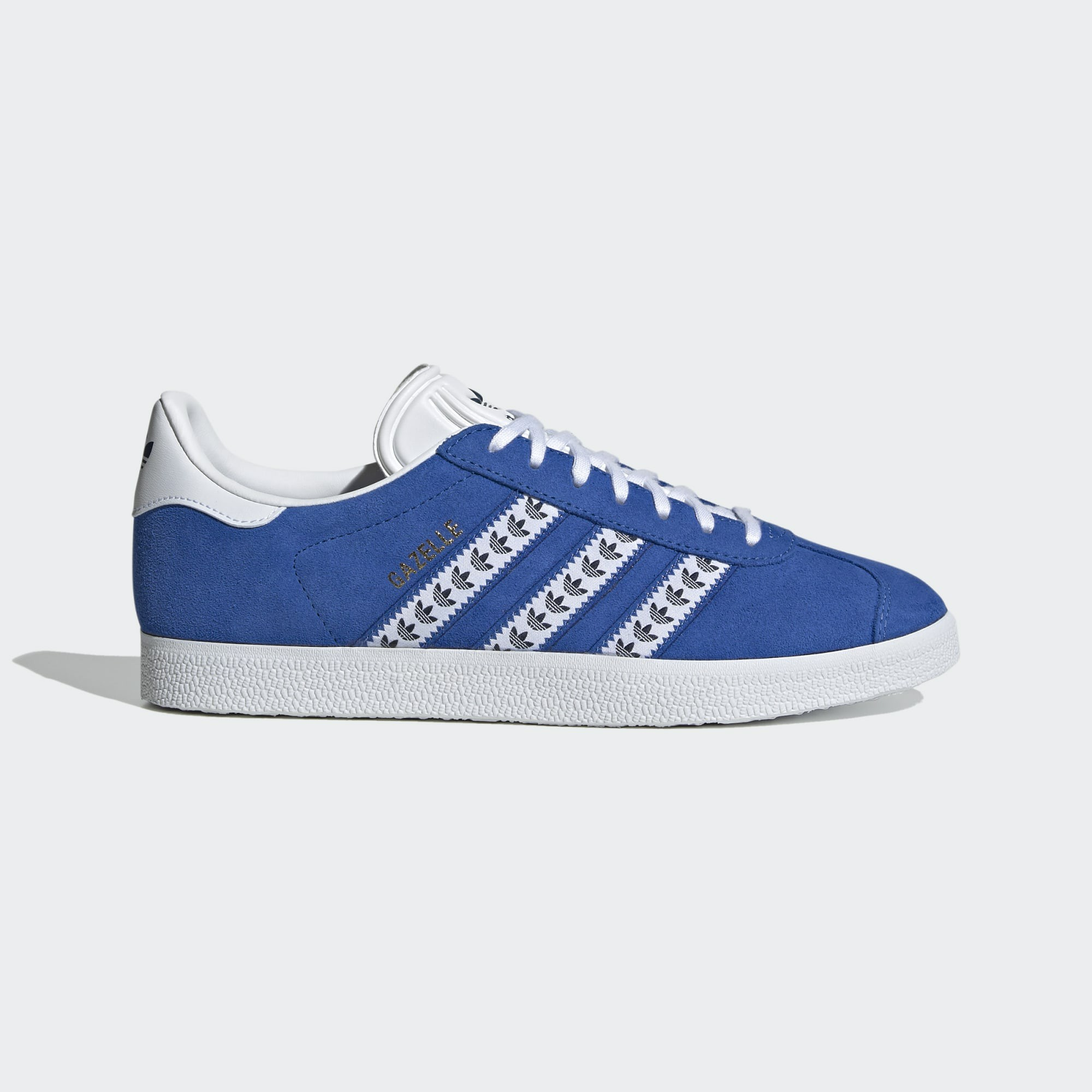 Adidas Gazelle FU9662 Blue/White/Gold Metallic