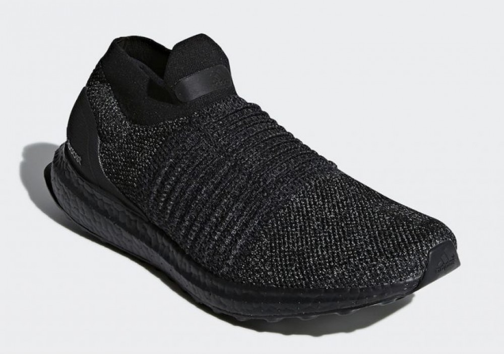 db5f7ef0bdb More Views. Adidas Ultra Boost Laceless Mid Triple Black BB6222