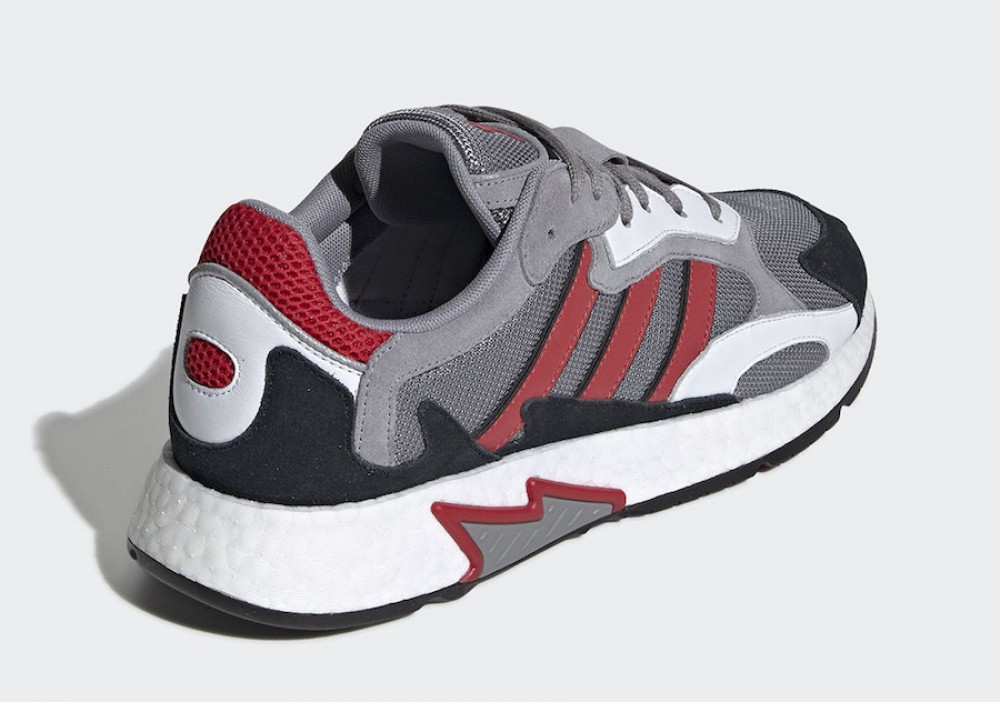 sale retailer e7572 65964 More Views. adidas Tresc Run Grey Scarlet Core Black EF0765