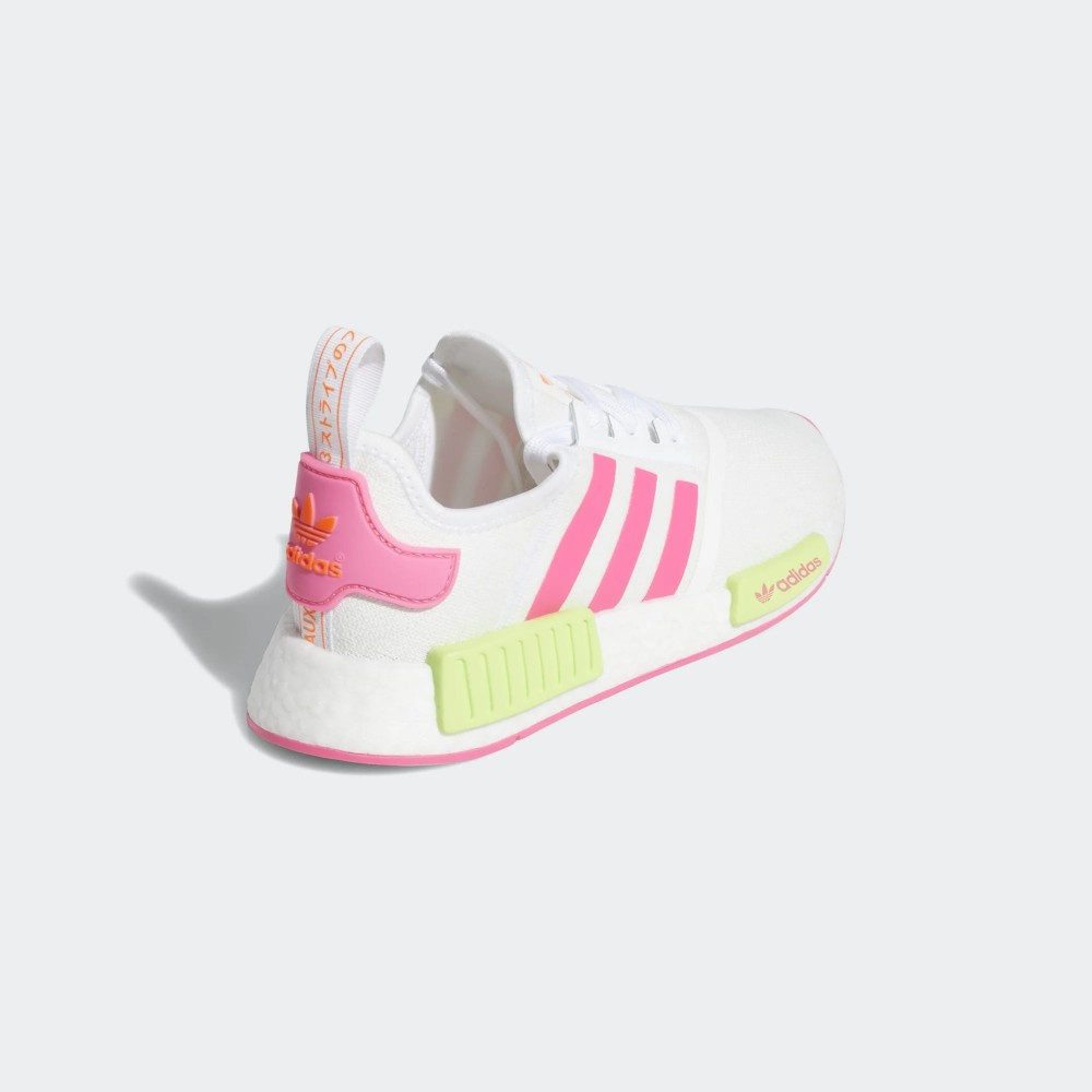 adidas NMD_R1 Shoes White/Pink EE4401 | alwayslongfor.com
